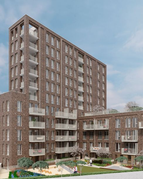 The Refinery - 3 bed apartment in Newham