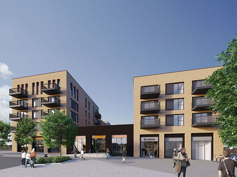 Castle Rise at Unity Gardens - 2 bed apartment in Ebbsfleet Garden City