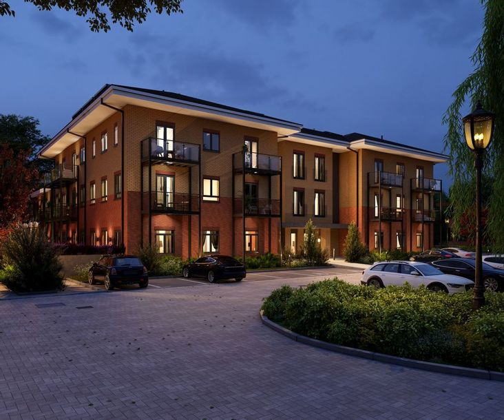 Heron House - 2 bed apartment in Godalming - Surrey