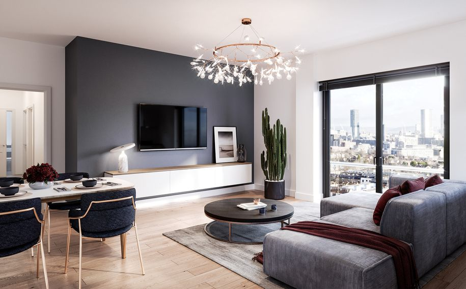 Amplify Apartments - 2 bed apartment in Salford - Salford