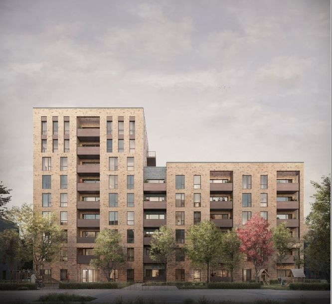 Park East - 1 bed apartment in Bexley