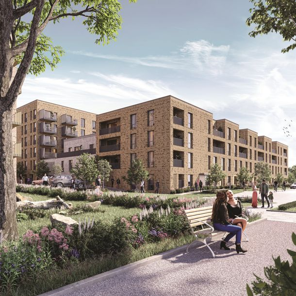 Greenway at Beckton Parkside SO - 1 bed apartment in Newham