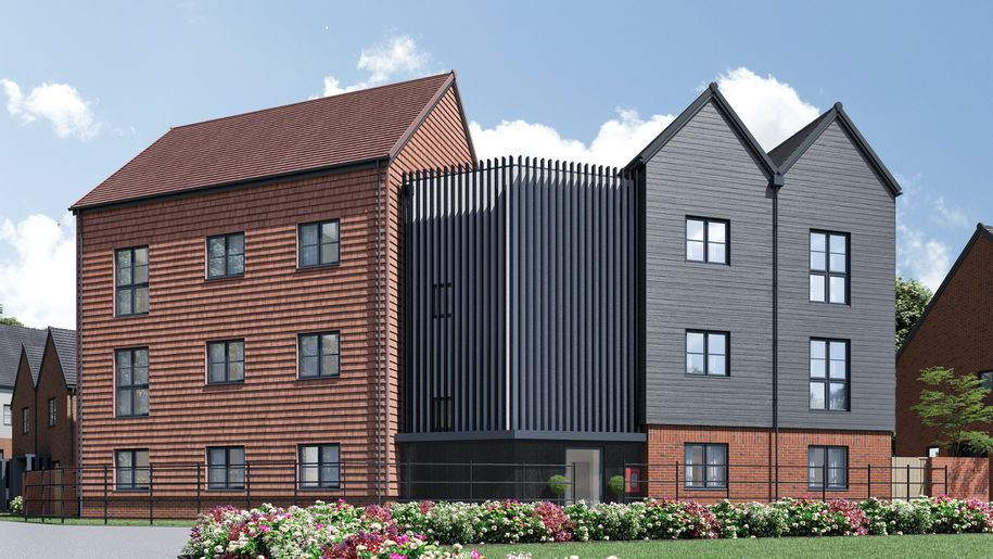 Clarion at Kings Hill - 2 bed apartment in West Malling - Kent