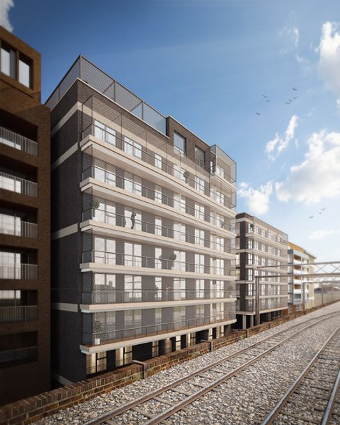 The Kiln Works - 1 bed apartment in Tower Hamlets