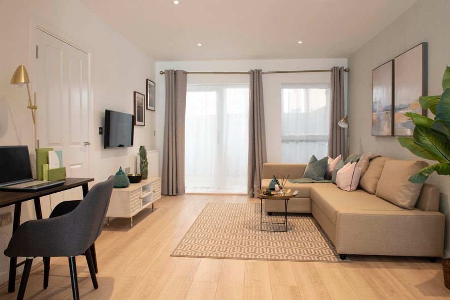 Trinity Walk Phase 2 - 2 bed apartment in Greenwich