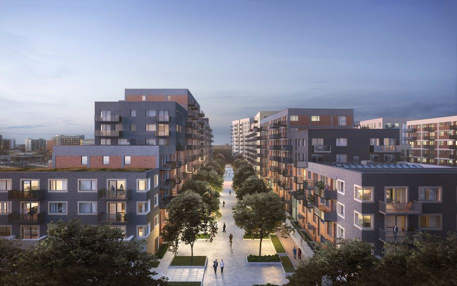 L&Q at Hayes Village - 1 bed apartment in Hillingdon