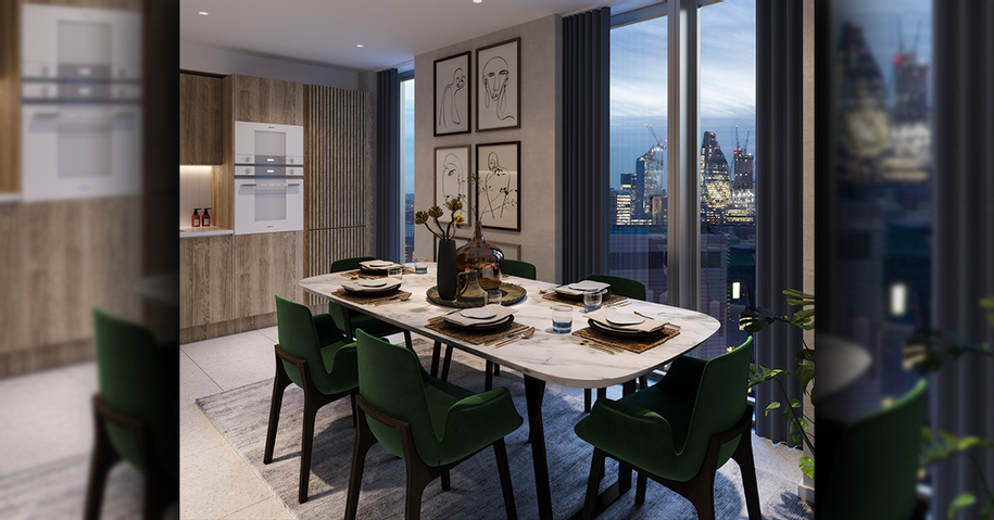 L&Q at The Silk District - 1 bed apartment in Tower Hamlets