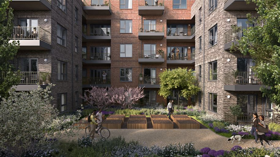Cavendish Gardens - 2 bed apartment in Hounslow