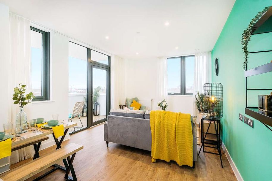 Cairo Apartments, Croydon - 1 bed apartment in Croydon