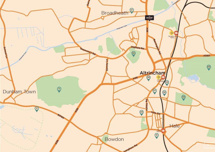 The Wharf - 1 bed apartment in Altrincham - Trafford