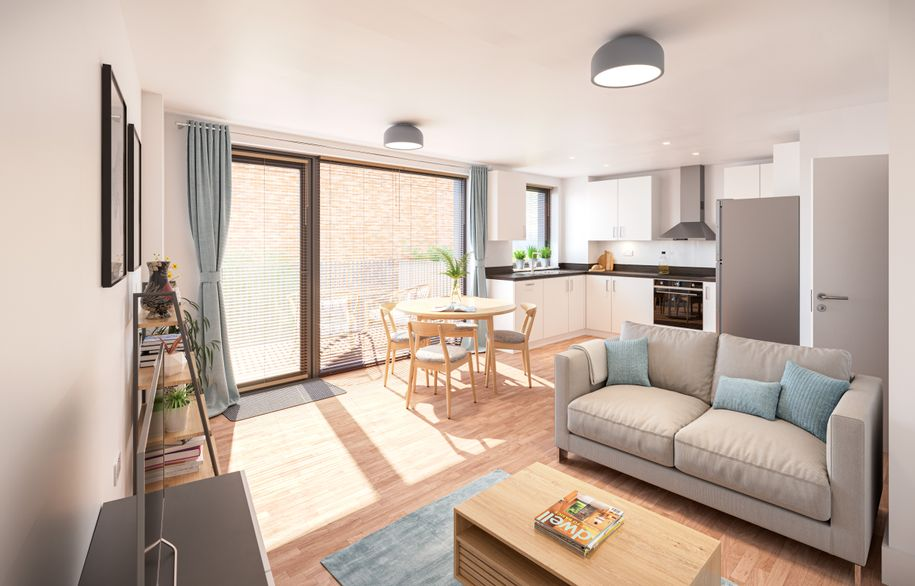 Aura 8a & 8b - 2 bed apartment in Cambridge - Cambridgeshire