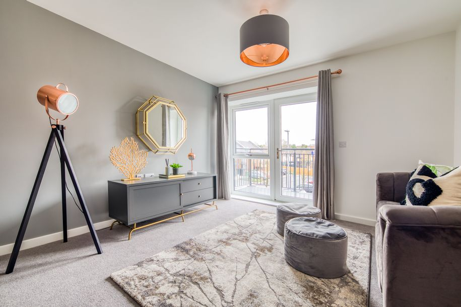 Radian Homes at Centenary Quay - 2 bed apartment in Woolston - City of Southampton