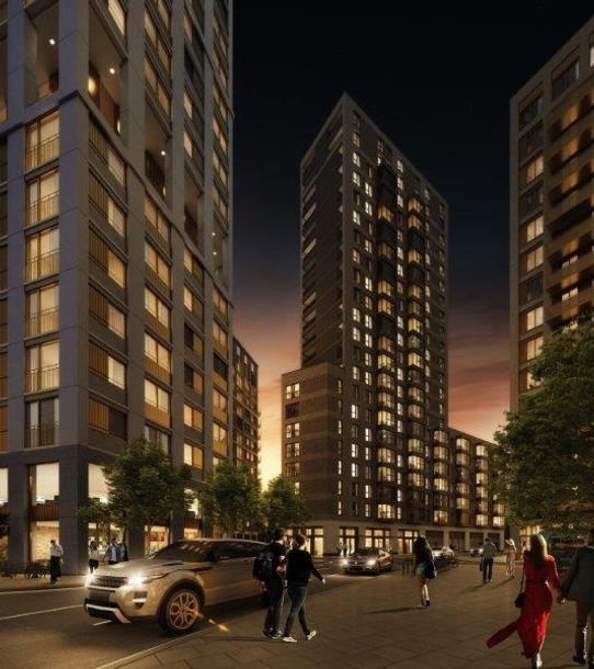 Millstream Tower - 1 bed apartment in Haringey