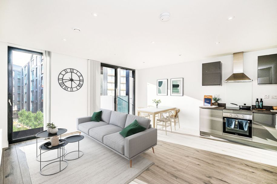 Courtyard Apartments - 1 bed apartment in Brighton - City of Brighton and Hove
