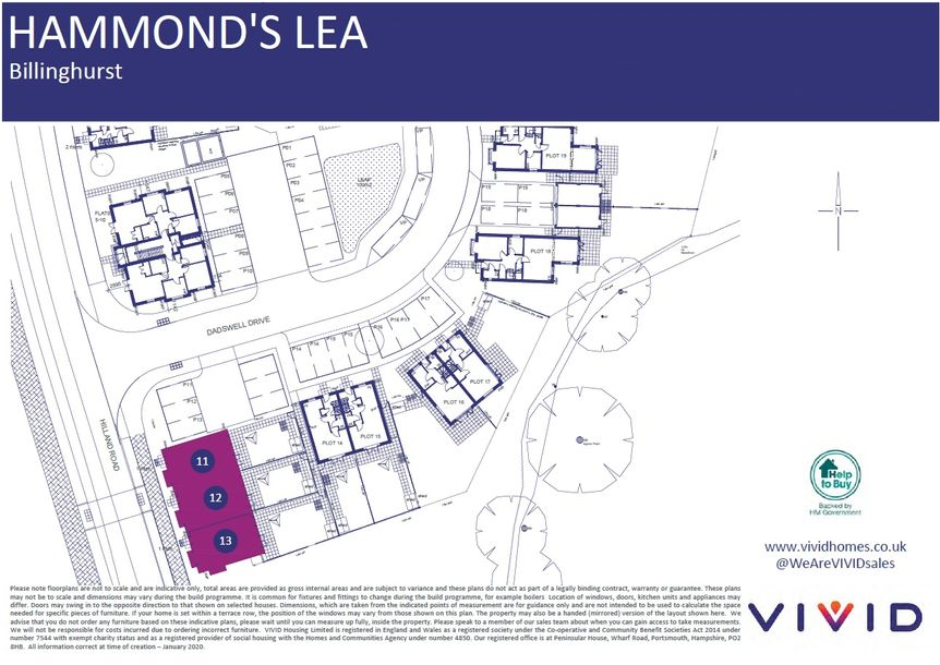 Hammond's Lea - 3 bed house in West Sussex