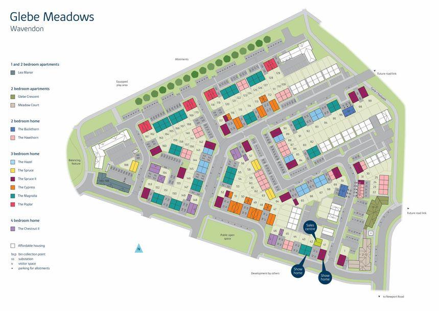 Glebe Meadows - 2 bed apartment in Milton Keynes - Milton Keynes