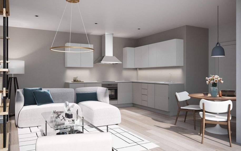 The Square - 2 bed apartment in Harlow - Essex