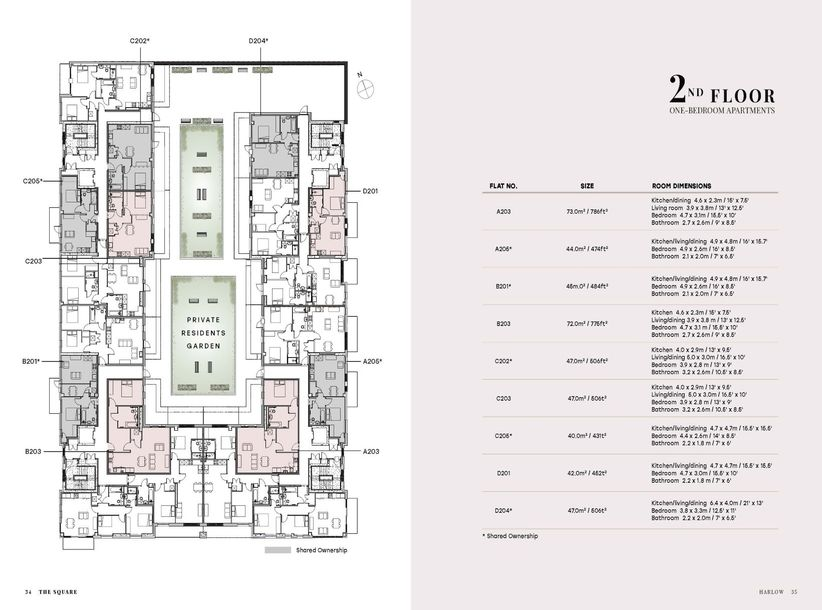 The Square - 1 bed apartment in Harlow - Essex