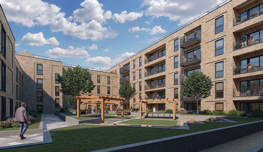 Campbell Wharf - 2 bed apartment in Milton Keynes - Milton Keynes