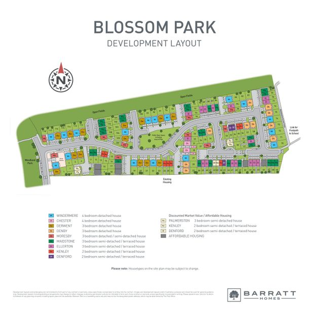 Blossom Park - Barratt - 3 bed house in Pegswood - Northumberland