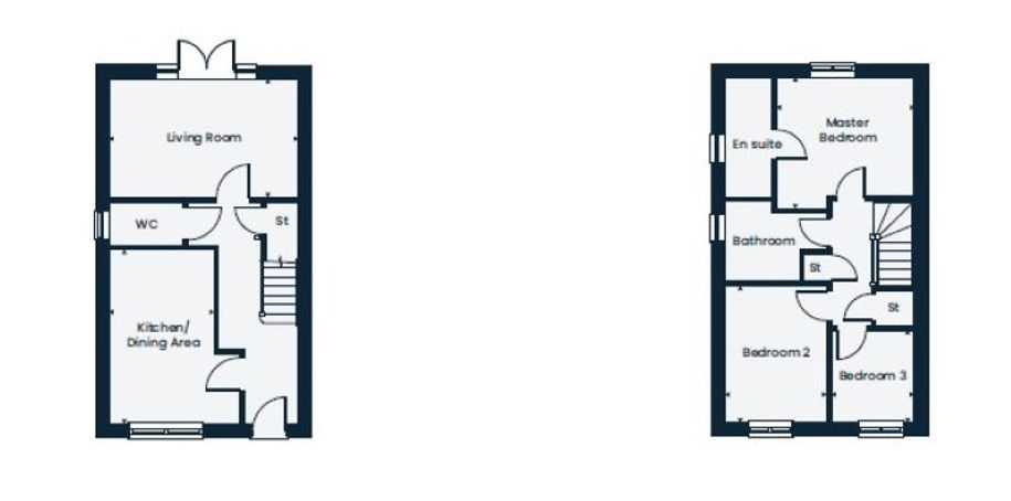 Alston Grange - 3 bed house in Longridge - Lancashire