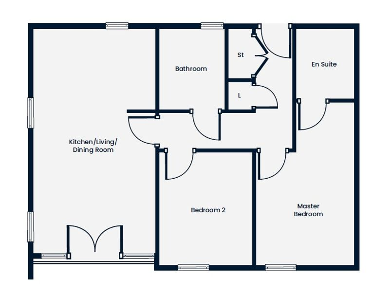 Manor Kingsway - 2 bed apartment in Derby - City of Derby