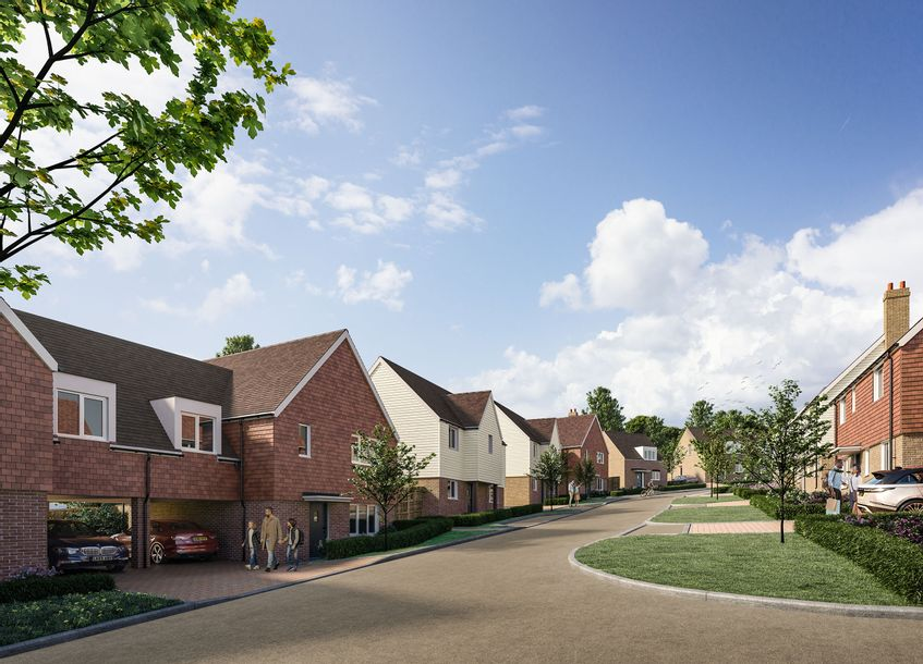 Tollgate Green, Battle - 3 bed house in Battle - East Sussex