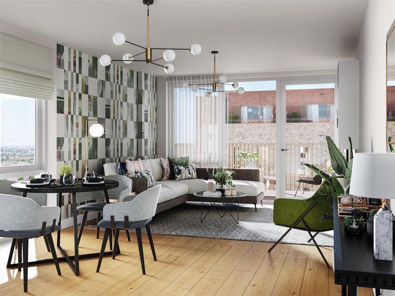 Evergreen - 1 bed apartment in Haringey