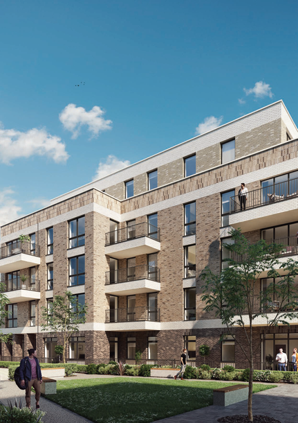 Earlham Square - 1 bed apartment in Newham