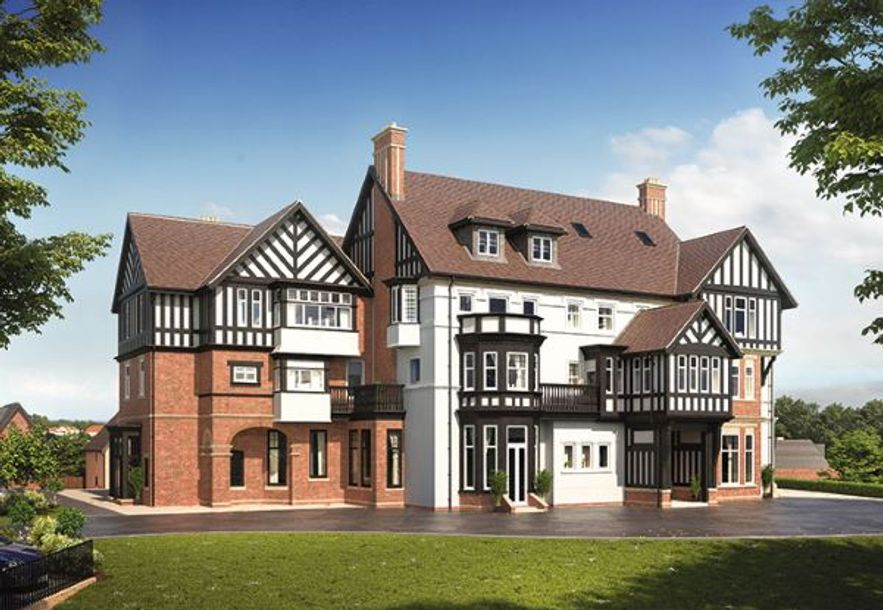 Manor House at Bournville Park - 1 bed apartment in Northfield - Birmingham