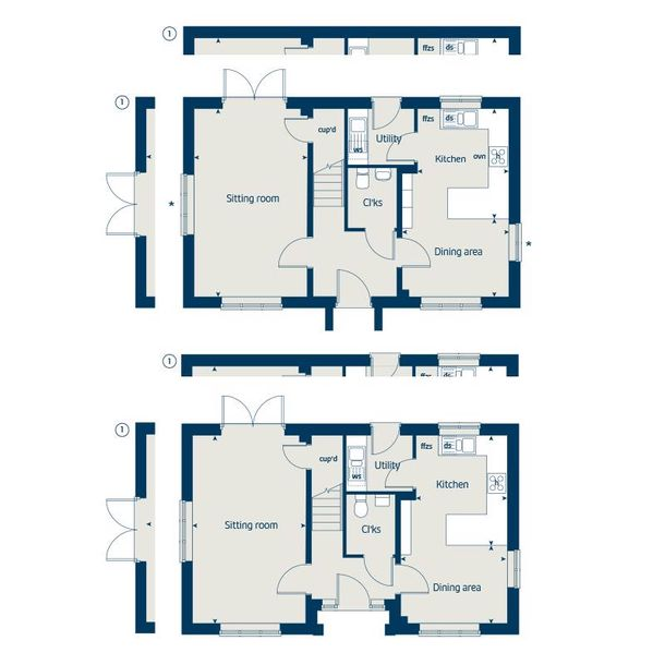 Monument View - 3 bed house in Wellington - Somerset
