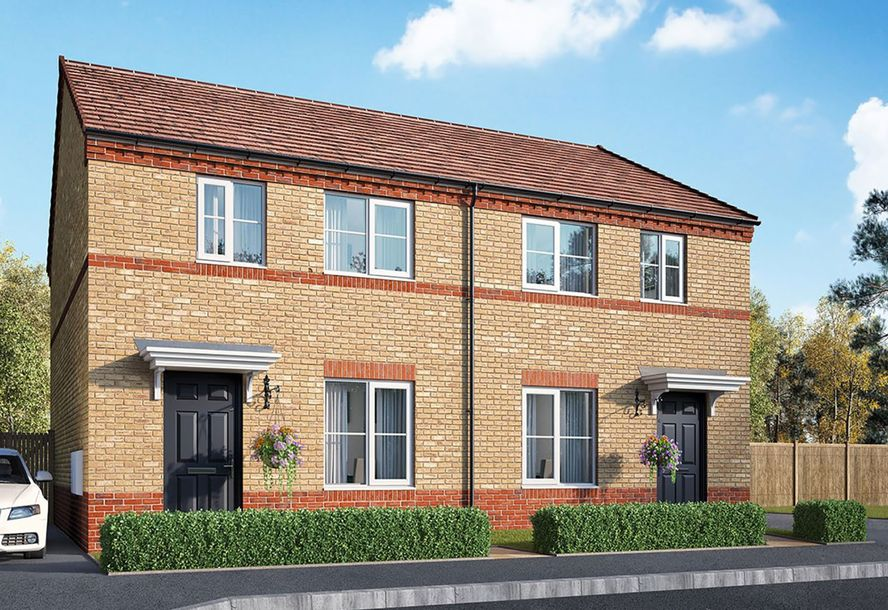 Flying Fields - 2 bed house in Southam - Warwickshire