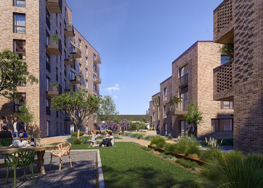 Home X, Brighton - 2 bed apartment in Moulsecomb - City of Brighton and Hove