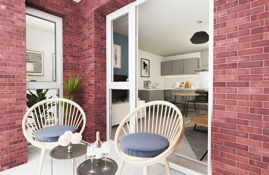 Knights Quarter - 1 bed apartment in Winchester