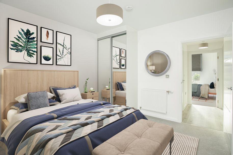 Barking Riverside - 1 bed apartment in Barking and Dagenham
