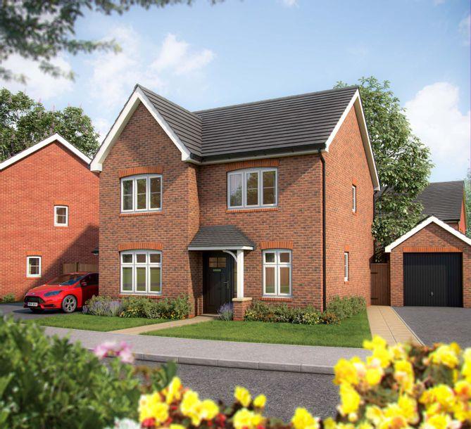 Crown Hill Gardens - 3 bed house in Radford Semele - Warwickshire
