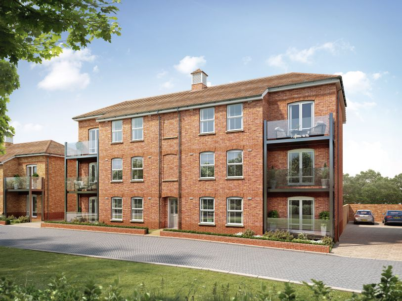 Cedar Meadows, Woolmer Green - 2 bed apartment in Woolmer Green - Hertfordshire