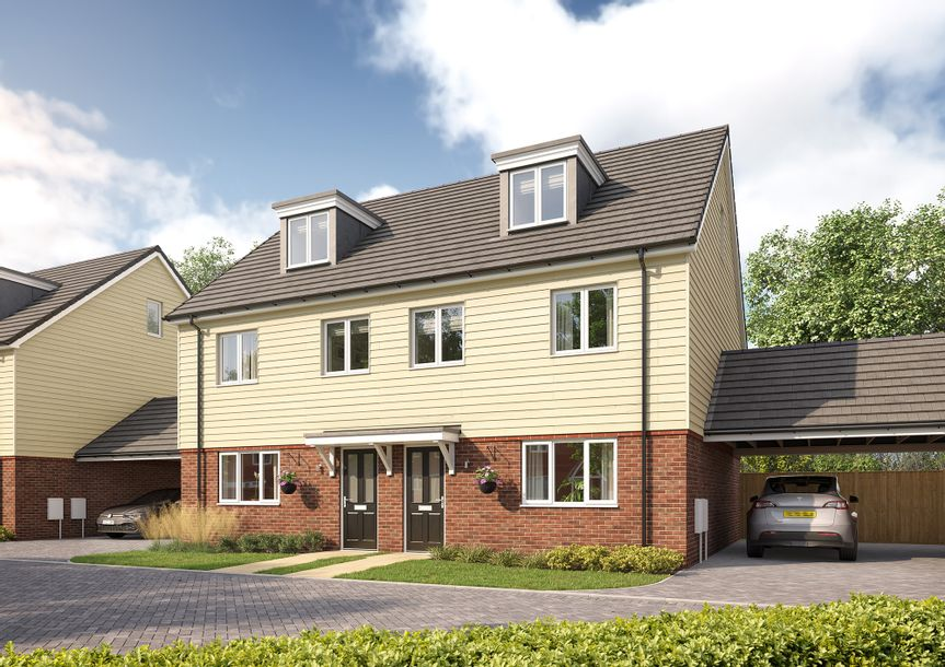 Sayers Meadow - 3 bed house in Hassocks - West Sussex