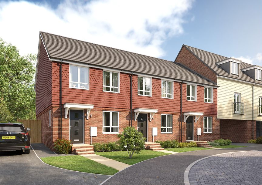 Sayers Meadow - 2 bed house in Hassocks - West Sussex