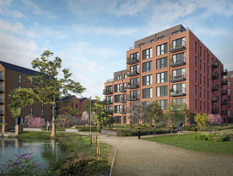 St James Quay - 2 bed apartment in Norwich - Norfolk