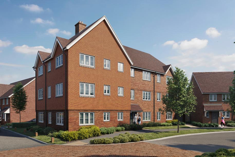 Westvale Park - 2 bed apartment in Horley - Surrey