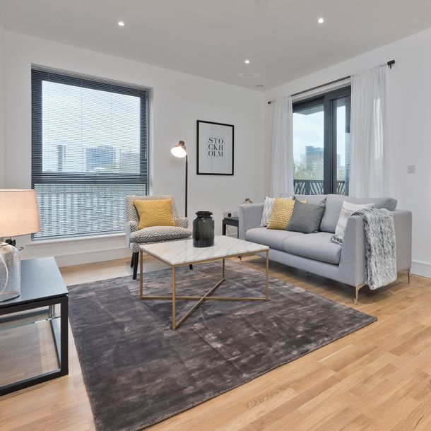 LUX at Leven Wharf - 2 bed apartment in Tower Hamlets