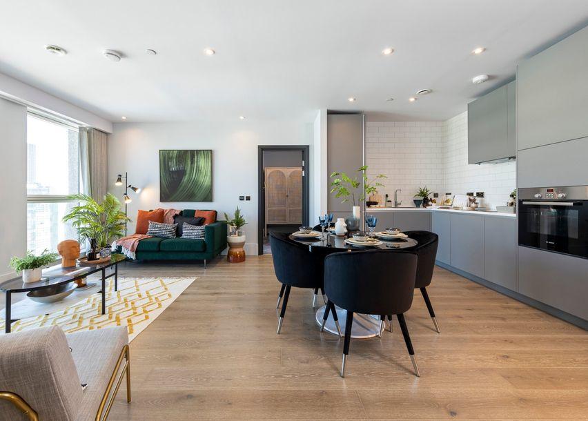 Leon House - 2 bed apartment in Croydon