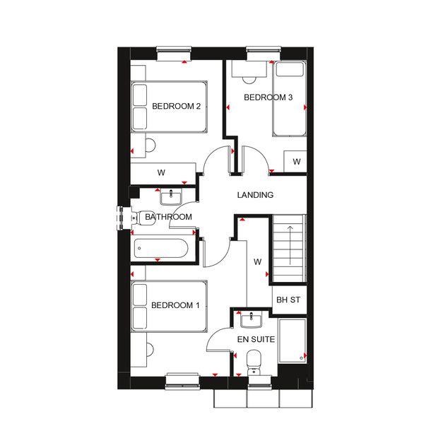 Cherry Tree Park - Barratt - 3 bed house in Ryhope - Sunderland
