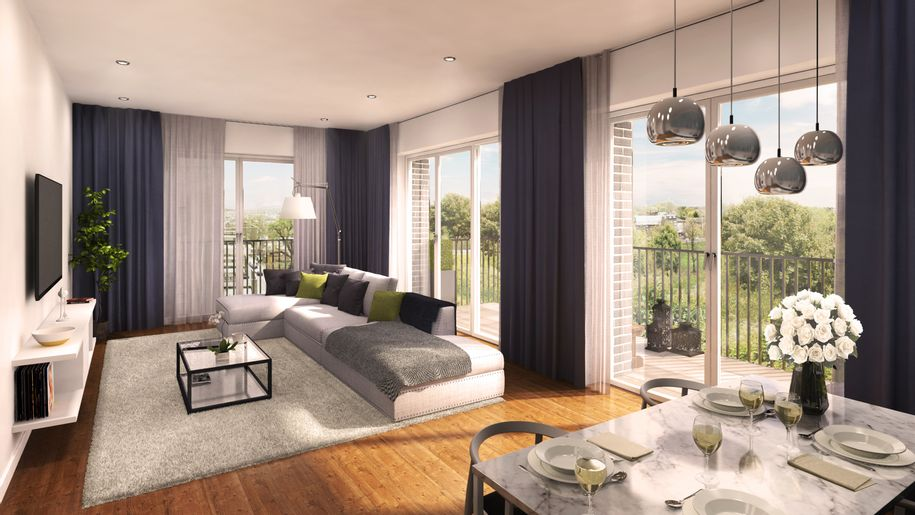 St Johns Way SO - 1 bed apartment in Wandsworth